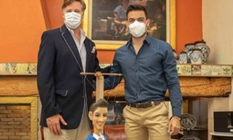 Por qué Carlos Rivera conoció a Christopher Landau, el embajador de Estados Unidos en México