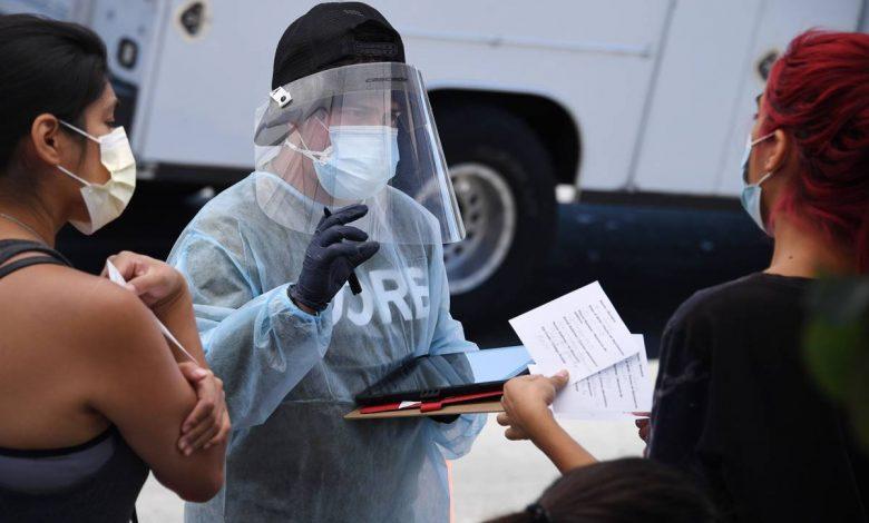 Casos de coronavirus en Estados Unidos